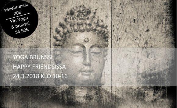 Happy Friendsin Yin Yoga brunssi 24.3.2018