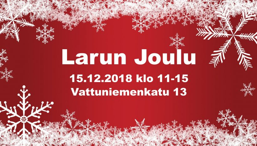 Larun Joulu 15.12.2018