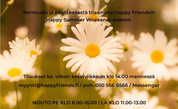 Happy Summer Weekend -paketit