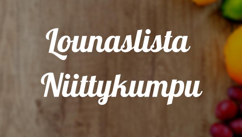 Lounas Niittykumpu